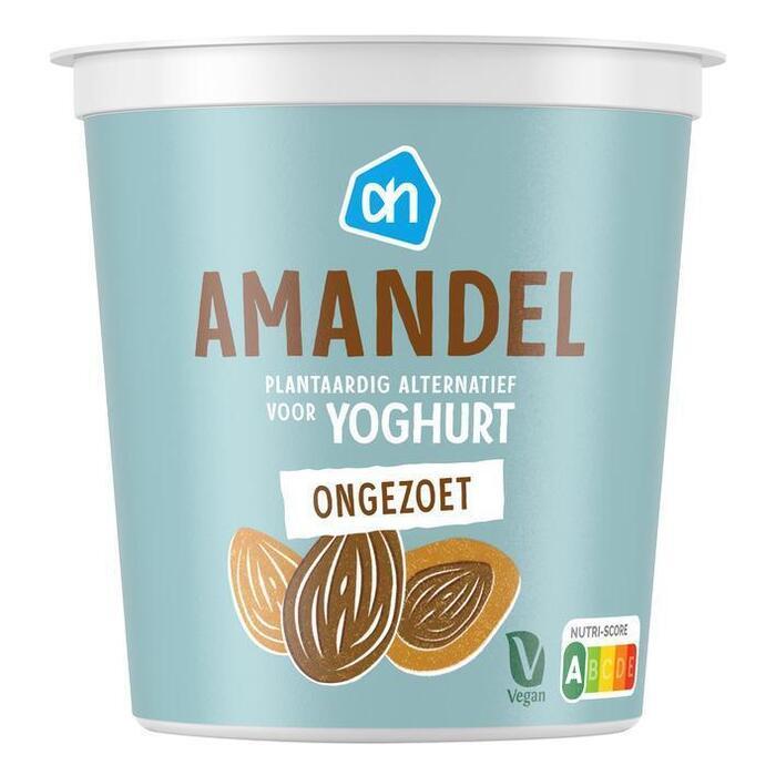 AH Amandel yoghurt plantaardige variatie (300g)
