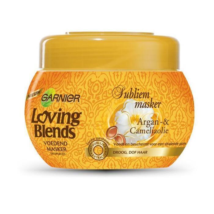 Loving Blends Argan & camelia masker (30cl)