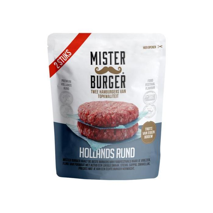 Mister Burger Hollands Rund 2 x 125g (2 × 125g)