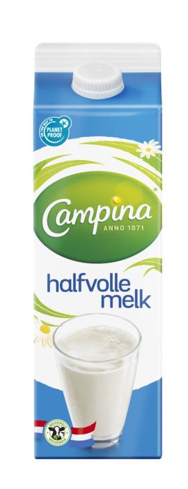 Campina Halfvolle Melk (pak, 1L)