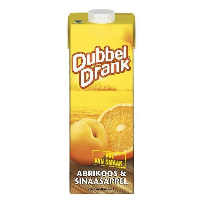 DubbelDrank Sinaasappel-abrikoos (1L)
