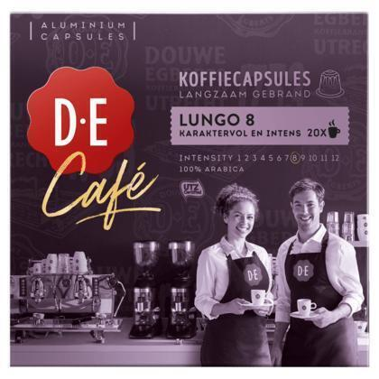 Douwe Egberts Café Lungo 8 Koffiecups 104 g (20 × 104g)