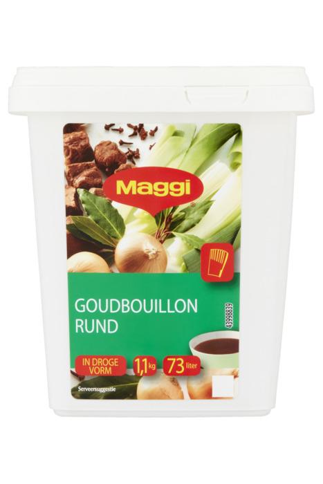 MAGGI Bouillon Rundvlees 6x1.1kg Emmer (1.1kg)