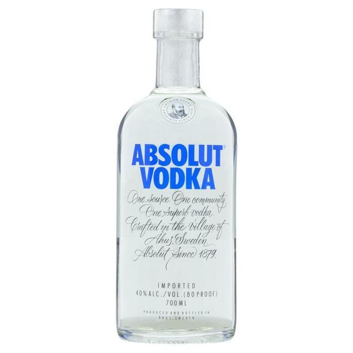 Vodka blue (rol, 70 × 0.7L)