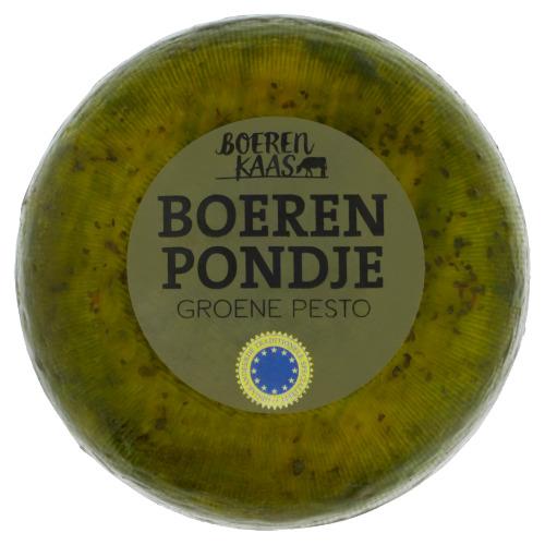 Boeren Kaas Boeren Pondje Groene Pesto 0,485 kg (485g)
