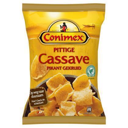 Conimex Kroepoek pittige cassave (75g)