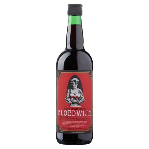 Bloedwijn Zoete Versterkende Heerlijke Wijn met Kruidenextract 75 cl (rol, 75 × 0.75L)