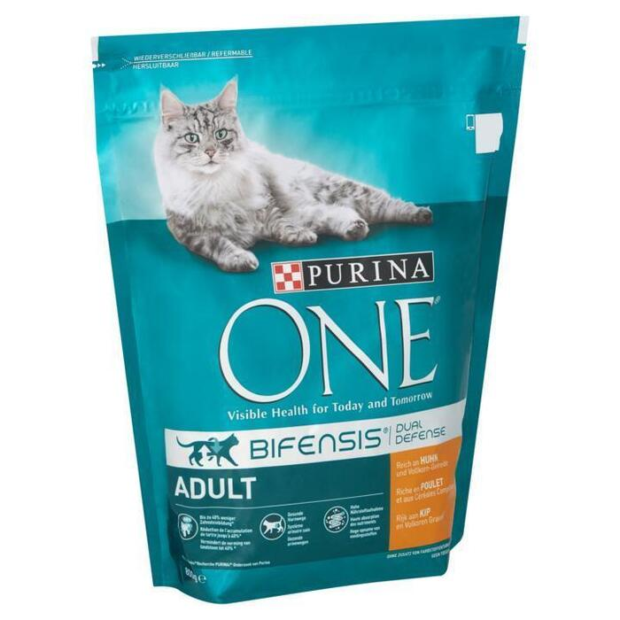 Purina ONE Bifensis Dual Defense Adult Kip 800 g (Stuk, 800g)