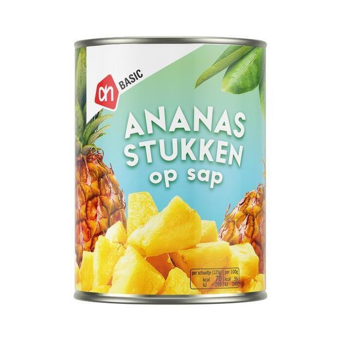 AH BASIC Ananasstukjes (567g)