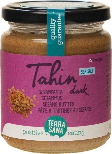 Tahin dark - Sesampasta met Himalayazout TerraSana 250g (250g)