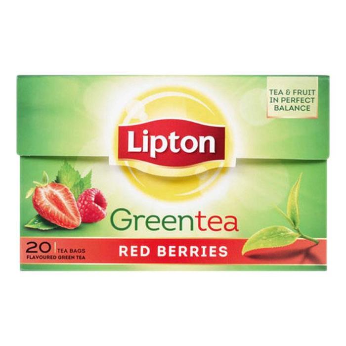 Lipton Thee Green Red Berries 20 Stuks (20 × 28g)