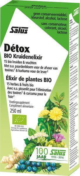 Detox kruidenelixer (250ml)