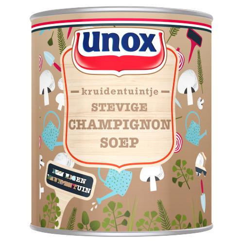 Unox Kruidentuintje Soep in Blik Stevige Champignonsoep 800 ml (0.8L)