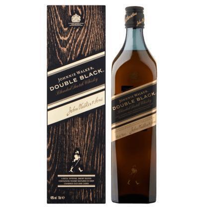 Johnnie Walker Double black label (rol, 0.7L)