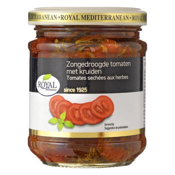 Zongedroogde tomaten met kruiden (pot, 215g)