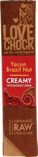 RAW chocolade creamy yacon/paranoot (40g)