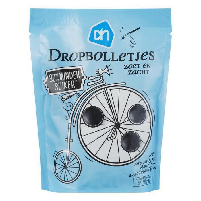 AH Dropbolletjes  -30% suiker (200g)