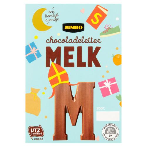 Jumbo Melkchocolade Letter M 65 g (65g)