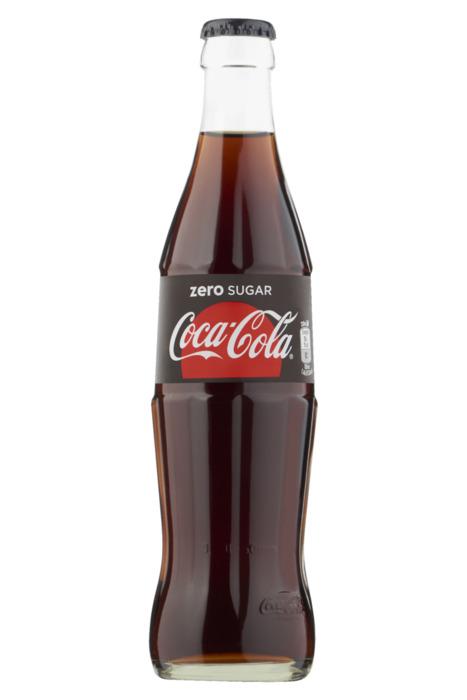 Coca-Cola Zero Ret Gl Bot 0.33L 1x (33cl)