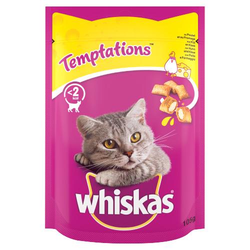 Whiskas Temptations met Kip en Kaas 105 g (105g)