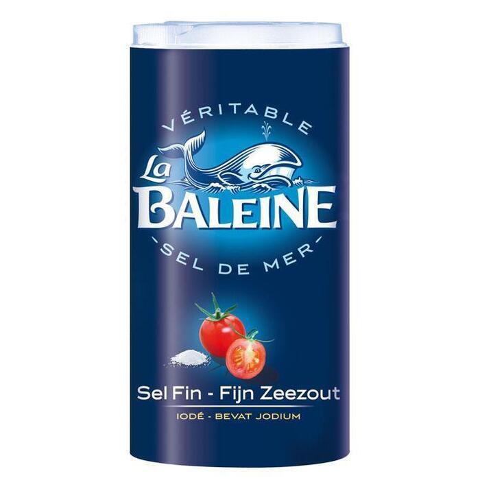 La Baleine Fijn Zeezout Bevat Jodium (500g)
