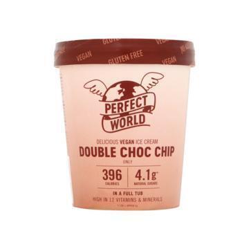 Perfect World Vegan IJs Double Choc Chip 500 ml (0.5L)