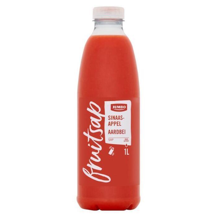 Jumbo Fruitsap Sinaasappelsap Aardbei 1L (1L)