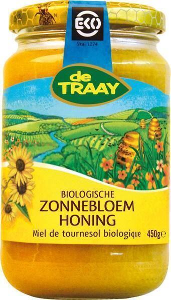 Zonnebloemhoning (pot, 450g)