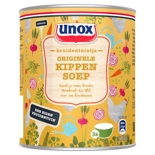 Unox Kruidentuintje Soep in Blik Originele Tomatensoep 800 ml (0.8L)
