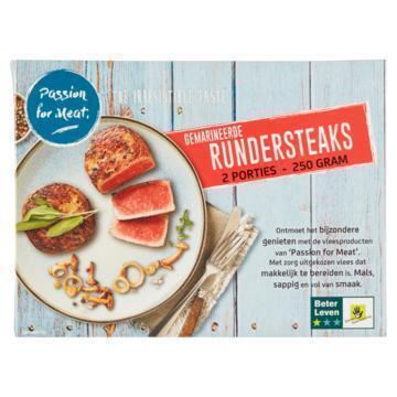 Passion for Meat Gemarineerde Rundersteaks 250 g (250g)