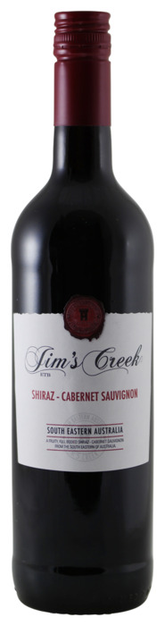Jim's Creek Shiraz Cabernet Sauvignon 750 ml (Stuk, 0.75L)