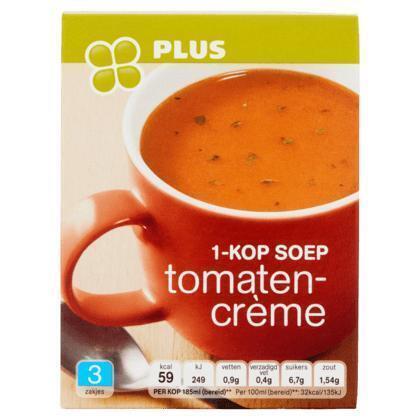 1-Kop soep tomaten creme (doos, 33g)