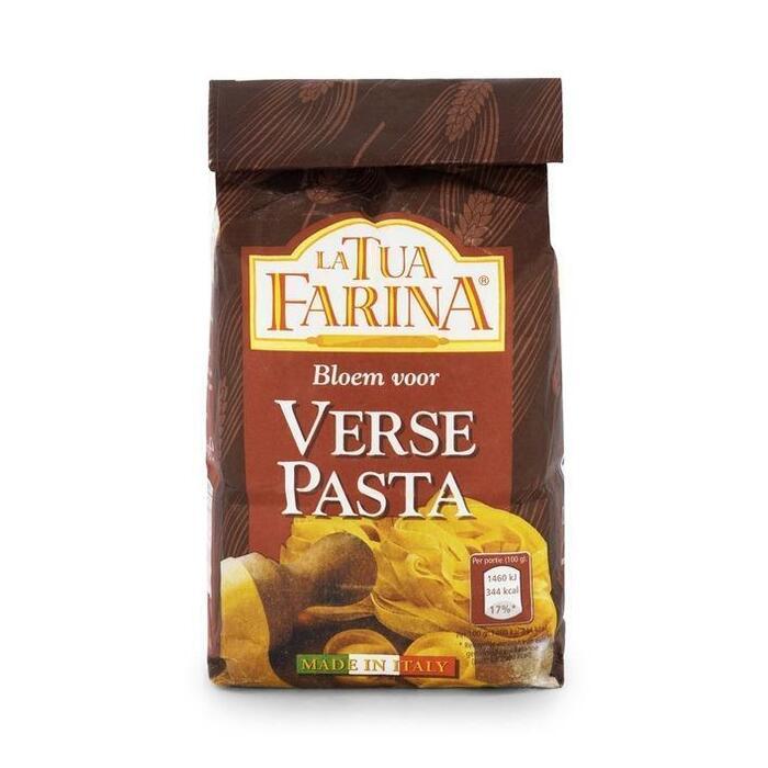 La Tua Farina Pastabloem voor verse pasta 500 gram (500g)