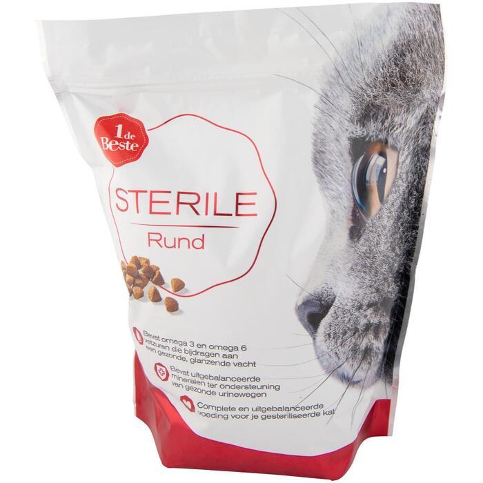 Kattenvoer sterile rund (800g)