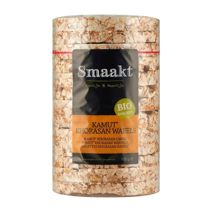Smaakt Kamut Khorasan Wafels 100 g (Stuk, 100g)