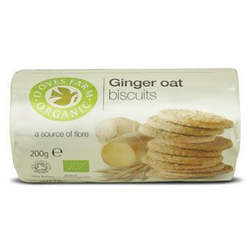 Biscuits ginger oat (gember haver) (200g)