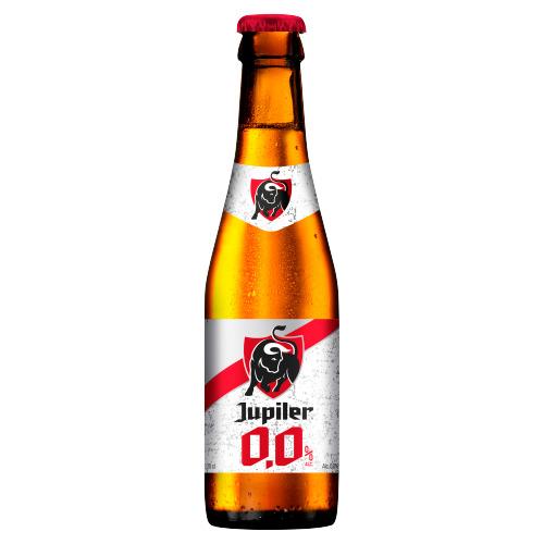 Jupiler bier 0,0% alcoholvrij 25cl (rol, 25 × 250ml)