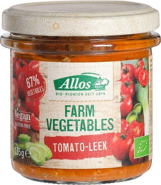 Farm Vegetables tomaten en preispread (135g)