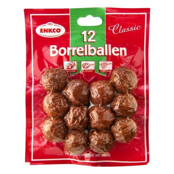 Enkco Borrelballen (12 × 200g)