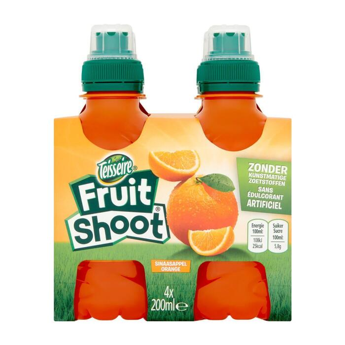 Robinsons Fruit shoot sinaasappel fles 4 x 20 cl (4 × 200ml)