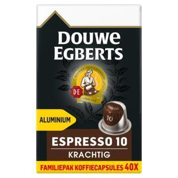 DOUWE EGBERTS KOFFIE CAPSULES ESPRESSO KRACHTIG UTZ 208G 40ST BOX (208g)