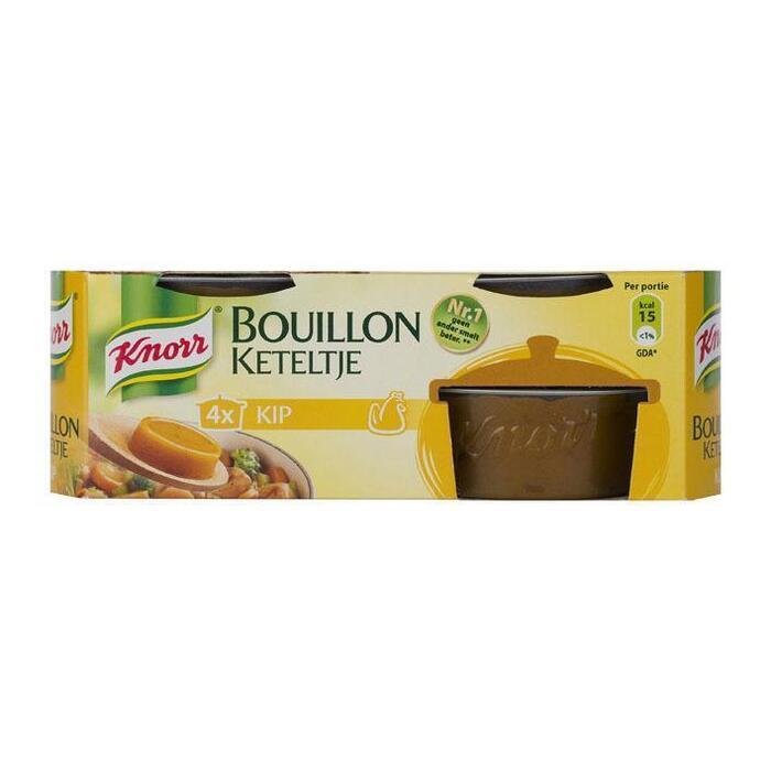 Bouillon keteltje kip (4 × 28g)