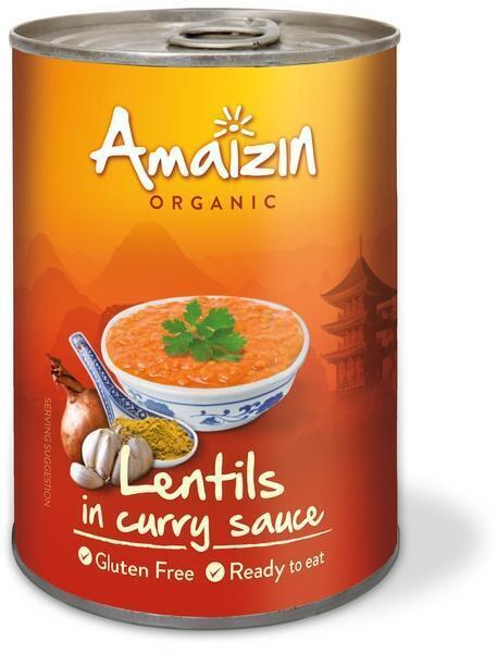 Lentils in curry sauce (420g)