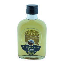 Old Captain Caribbean rum bruin (rol, 20 × 200ml)