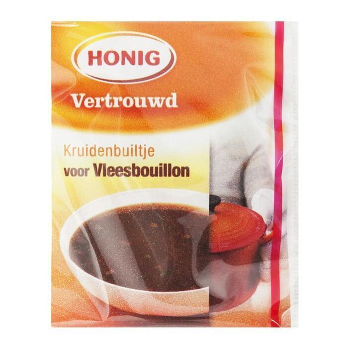 Honing, Vleesbouillon (Stuk, 5 × 13g)