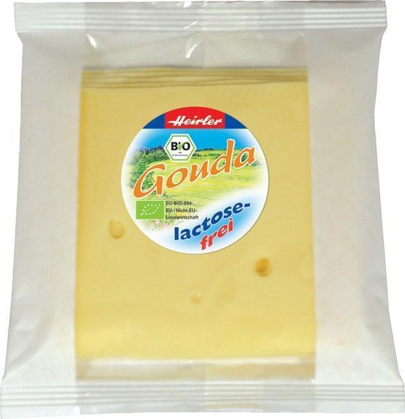 Goudakaas lactosevrij plakjes (plastic, 120g)