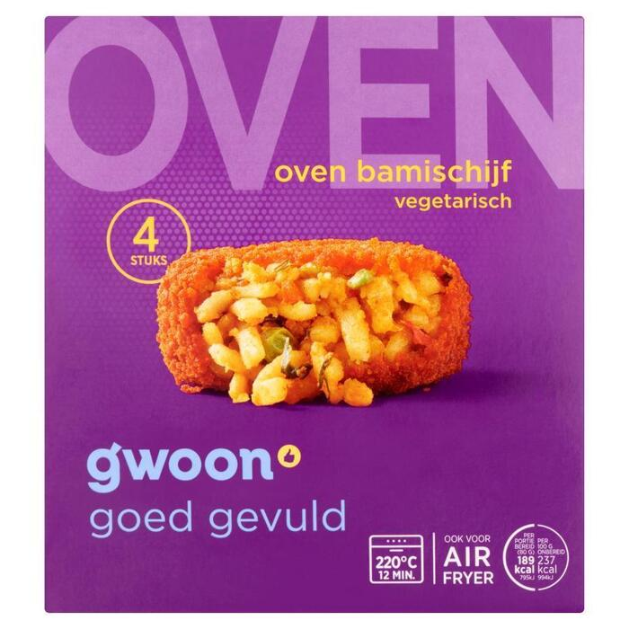 g'woon Oven bamischijven (4 × 320g)