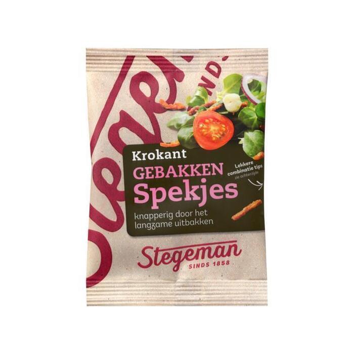 Stegeman Beter Leven 1 Ster Krokant gebakken spekjes 70 gram Maaltijdverrijkers (30g)