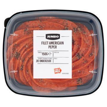Jumbo Filet Americain Peper 150g (150g)