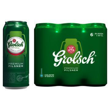 Grolsch Premium Pilsener (rol, 6 × 0.5L)